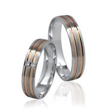 Obrázek Snubní prsteny 42 Ek