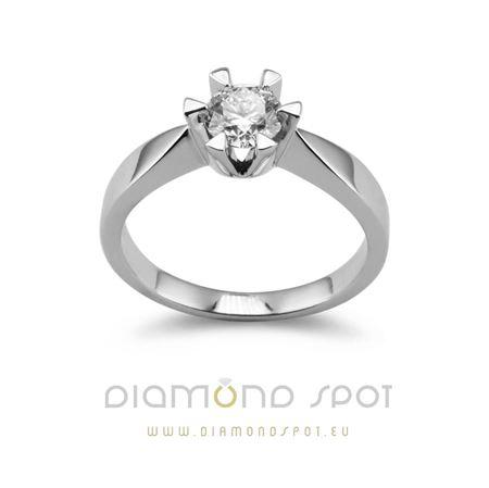 Obrázek z Elegantní prsten Diamond Spot