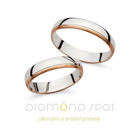 Obrázek z Snubní prsteny MMS1137