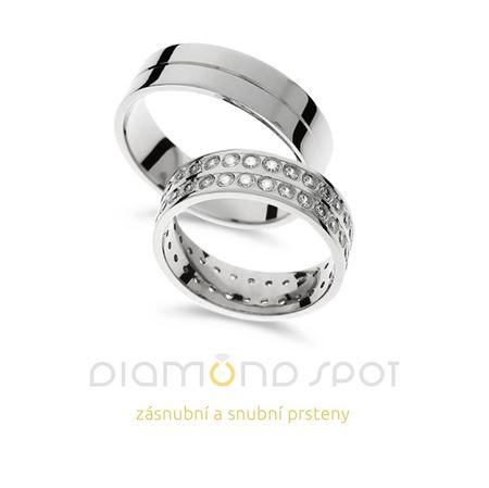 Obrázek z Snubní prsteny A618