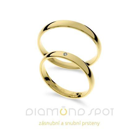Obrázek z Snubní prsteny P41