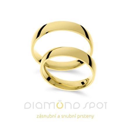 Obrázek z Snubní prsteny P18