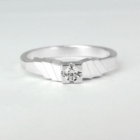 Obrázek z Zásnubní prsten ASCELLA s briliantem