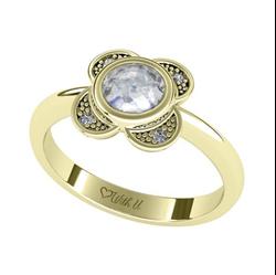 Obrázek z Zásnubní prsten Cloverleaf