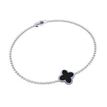 Picture of Women's bracelet FLOWER Silver