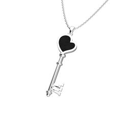 Obrázek Dámský přívěsek HEART Stříbro