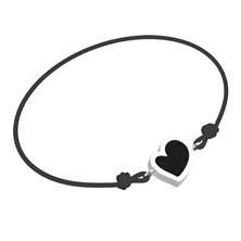 Obrázek Dámský náramek HEART Provázek