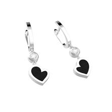 Picture of Earrings HEART Silver