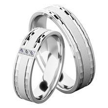 Obrázek Snubní prsteny Denise Silver
