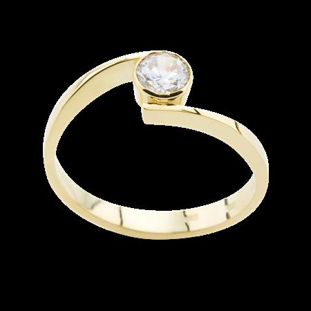 Obrázek z Zásnubní prsten OP022Z