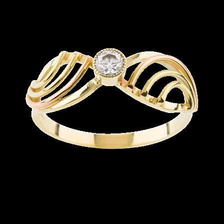 Obrázek z Zásnubní prsten OP051K